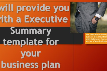Provide an executive summary template for your business plan by     Provide an executive summary template for your business plan by  Barbanderson12
