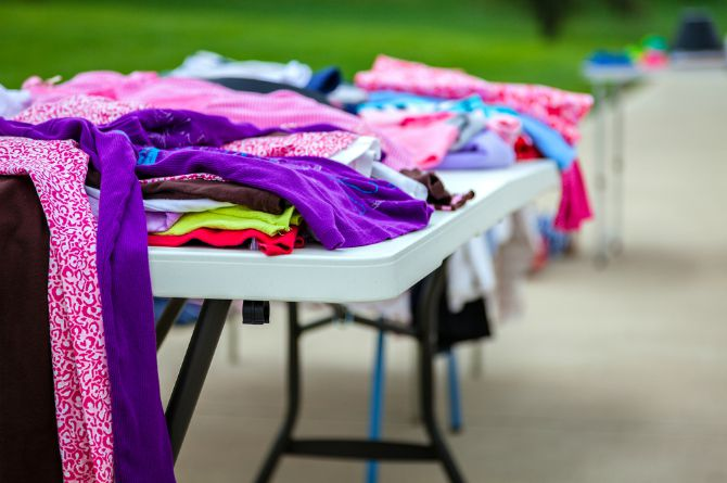 get rid of used baby items in Singapore, garage sale