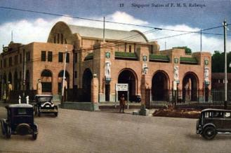 The grand looking train stationin 1903