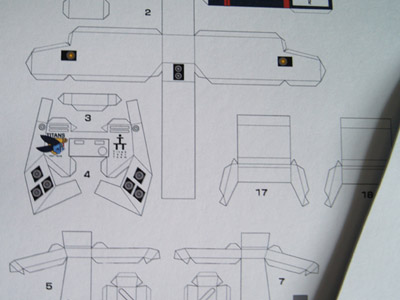 Papercraft TR-1 Hazel [Part 2]  (3/4)