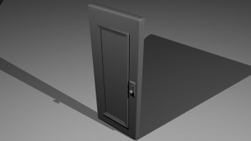 Apartment Door Model