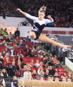 Morgan Reynolds Home Town Favorite Preforms on the Beam