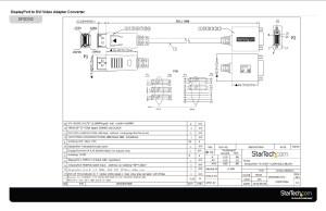 DisplayPort DVI Adapter  DisplayPort Male | DVI Single