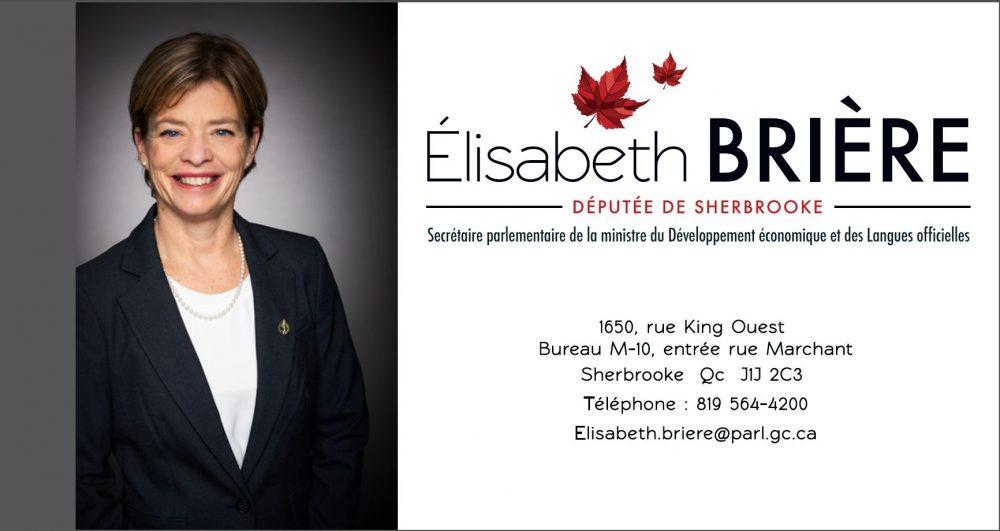 Élisabeth Brière Carte d'affaires