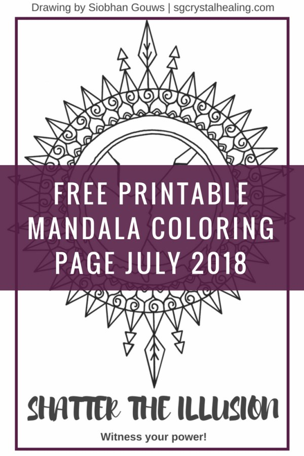 Free Printable Mandala Coloring Pages Jul 2018
