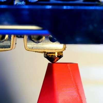 3D Print Closeup - 3D Printing