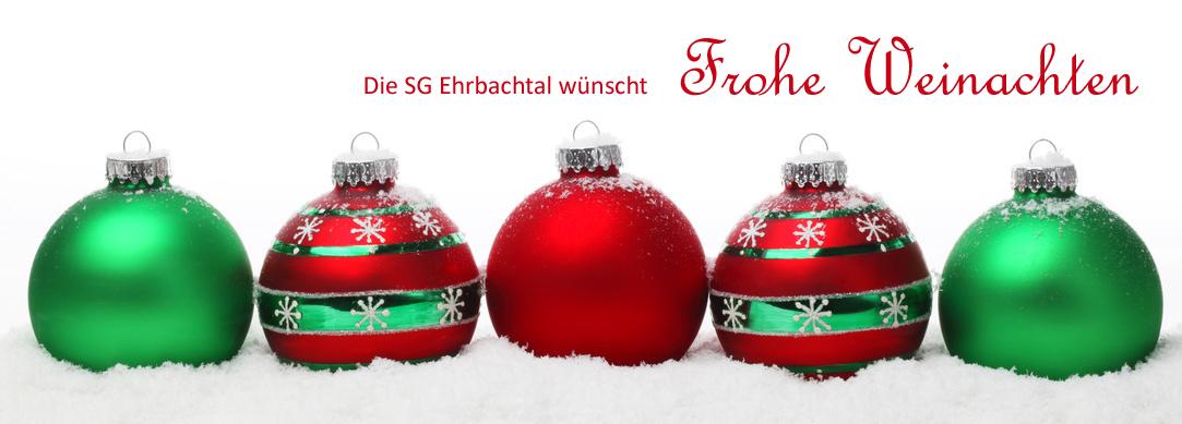Weihnachtsgrüße Fussballtrainer.Weihnachtsgrüße Sg Ehrbachtal