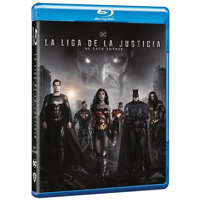 La liga de la justicia de Zack Snyder (Blu-Ray) · Warner · El Corte Inglés