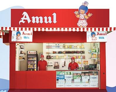 amul ice cream parlour franchise