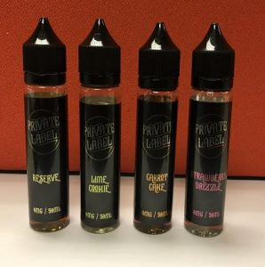 Private Label 50ml Shortfill Eliquid