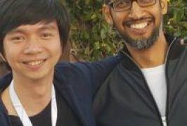 Berburu Selfie dengan Bos Google