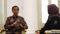Wawancara eksklusif detikcom dengan Presiden Joko Widodo /