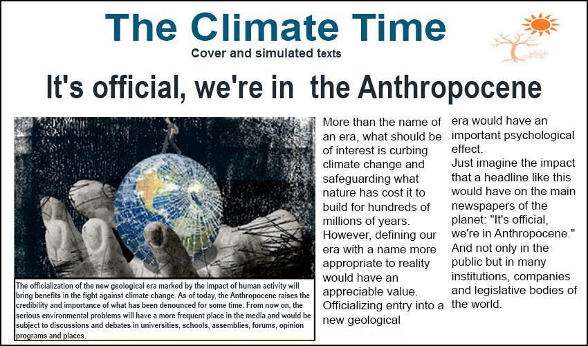 Magazine All about Anthropocene – SGK-Planet