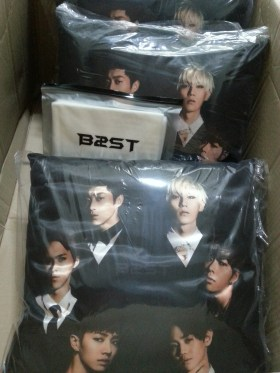 BEAST Cushion ver 2 & Slogan that arrived! #06