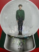EXO - Miracles in December Suho Globe Standee