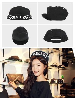 Runningman Song Ji Hyo-KKXX Hello Cap