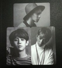BEAST TIME Junhyung, Yoseob & Gikwang Photocard