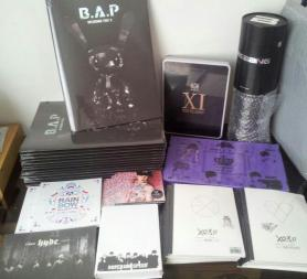 Albums & merchandises that arrived just now! #01