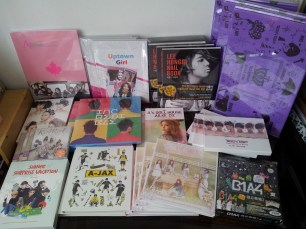 Albums and photobooks that arrived today!