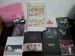 Albums & Photobooks that arrived tdy! #01