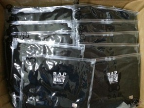 B.A.P LOE Wanted T-Shirts that arrived! #02