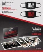BTS 2014 THE RED BULLET CONCERT OFFICIAL GOODS 02 - Mask & Mini Poster