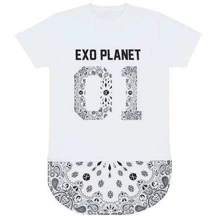 2014 EXO The Lost Planet In Japan Goods - T-Shirt (White)