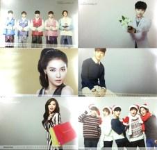 B1A4 & Hyuna Tony Moly Official 2015 Calendar Preview