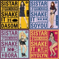 Sistar Mini Album Vol. 3 - Shake it Preview