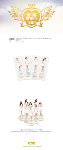 AOA Heart Attack Official Mini Standing Doll A