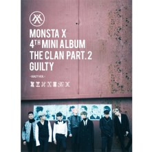 MONSTA X MINI ALBUM VOL.4 - THE CLAN 2.5 PART.2 GUILTY (Guilty Version)