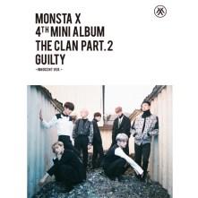 MONSTA X MINI ALBUM VOL.4 - THE CLAN 2.5 PART.2 GUILTY (Innocent Version)