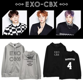 EXO CBX Girls Hoodie