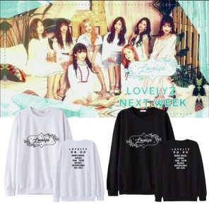 LOVELYZ NOW, US Pullover