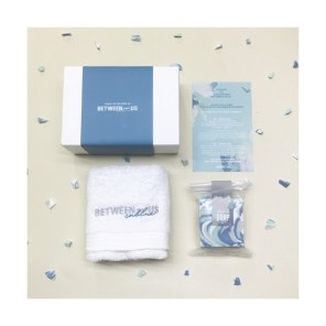 CNBLUE BETWEEN-US OFFICIAL GOODS - BATH SET