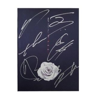 Official Autographed B.A.P Single Album Vol.6 – ROSE (Version B)