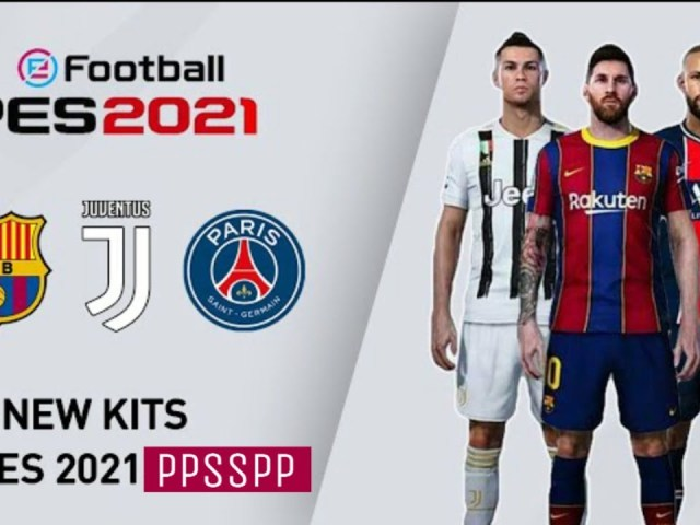 PES 2021 PPSSPP ISO File {New Faces, Kits & Latest Transfer}