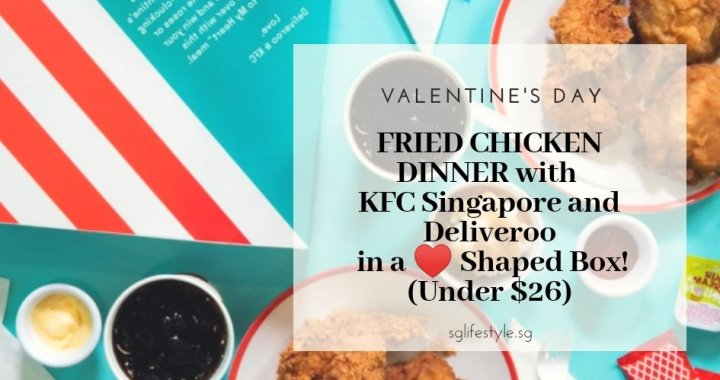 Valentine's Day Fried Chicken Dinner in a Personalized Heart Shaped Box UNDER $26 for 2?!
