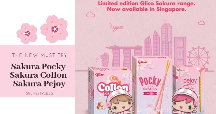 The NEW MUST TRY: Sakura Pocky, Sakura Collon and Sakura Pejoy – now AVAILABLE in Singapore for a Limited Time Only!