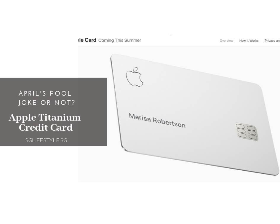 apple titanium credit card