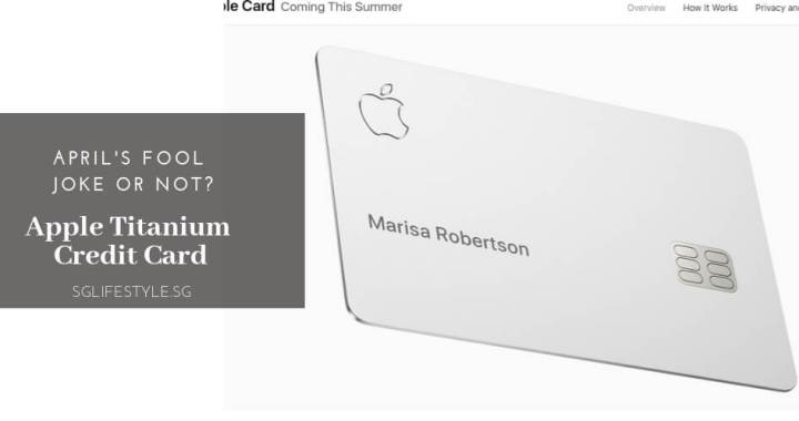 Apple Titanium Credit Card – an April's Fool Joke or Not?
