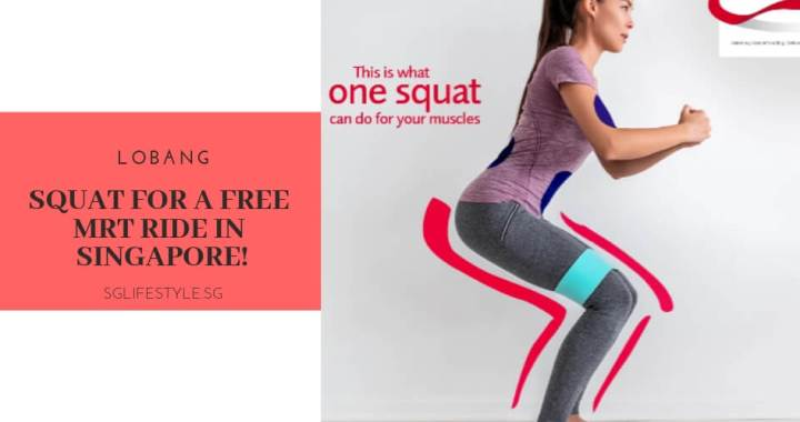 LOBANG: SQUAT YOUR WAY TO A FREE MRT RIDE!