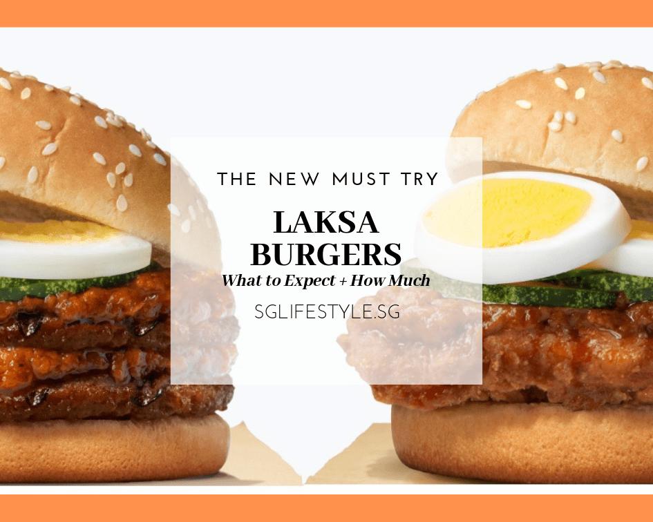 Burger King Laksa Burger