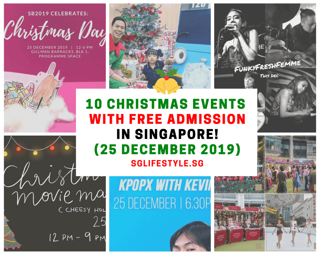 christmas day what to do singapore 2019