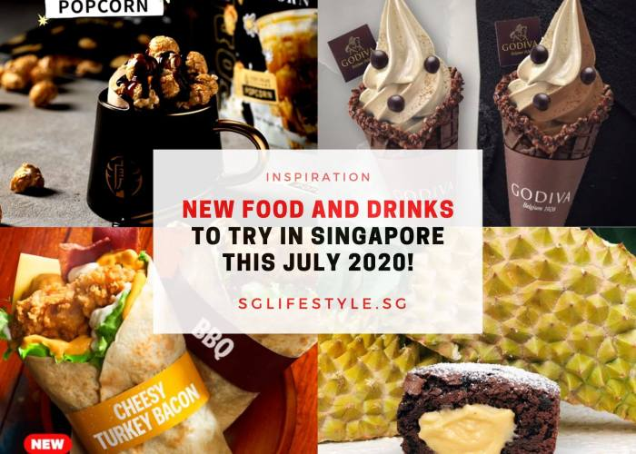inspiration new food and drinks july 2020