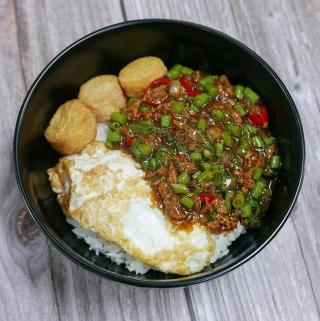 MM's Signature Minced Chicken with Basil and Egg Tofu (S$7.90)_Oct 2020