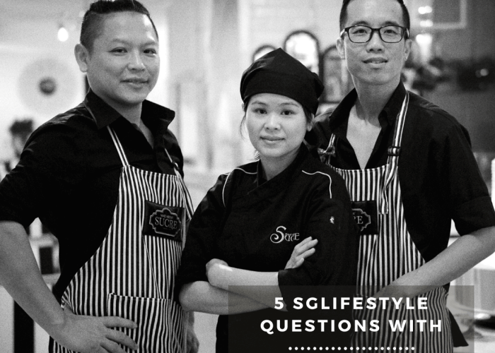 5 SGLIFESTYLE QUESTIONS WITH co founders mad about sucre