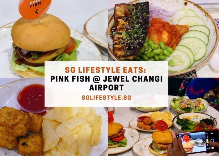 pink fish changi jewel
