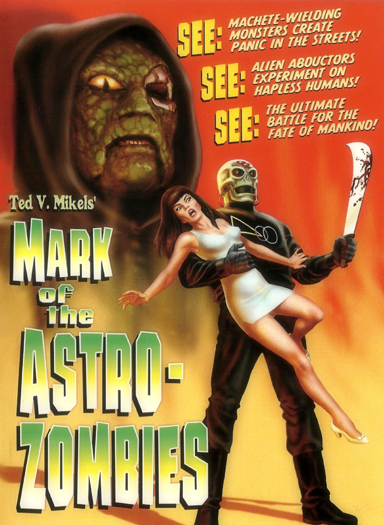Poster do filme Mark of the Astro-Zombies
