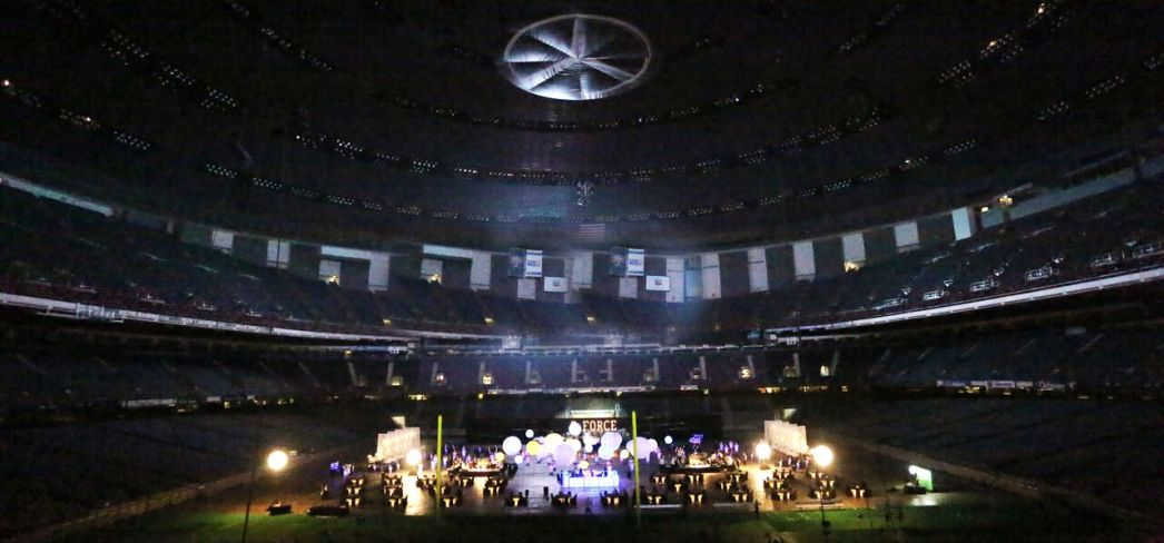 Supersized Event at the Mercedes Benz Superdome